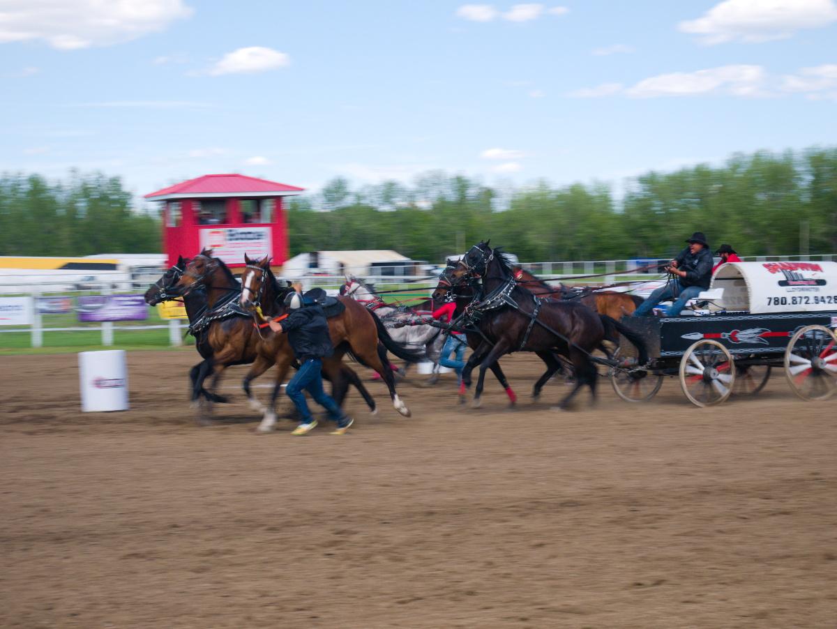 Course wagon Saskatchewan Canada