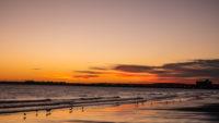 Coucher de soleil Puerto Madryn