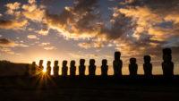Coucher de soleil Rapa Nui