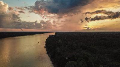 Jungle vue du ciel Puerto Maldonado