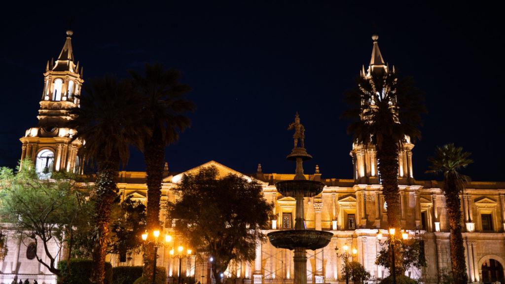 Plaza de Armas Aréquipa