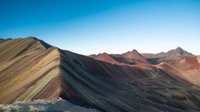 Rainbow Mountain Pérou