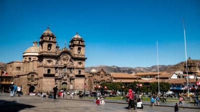 Place d'armes Cusco Pérou