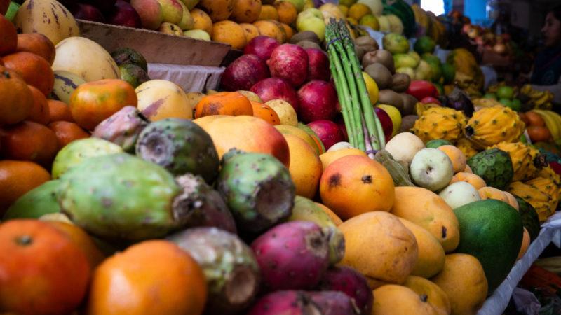 Fruits marché Pisac