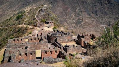 Vue d'ensemble Pisac Vallée sacrée