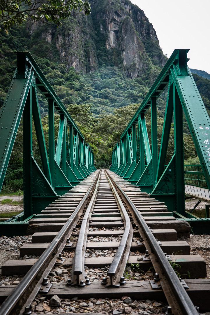 Rail jusqu'à Aguas Calientes Machu Picchu