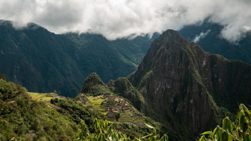 Machu Picchu depuis le temps du soleil