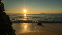 Coucher de soleil San Cristobal Galapagos
