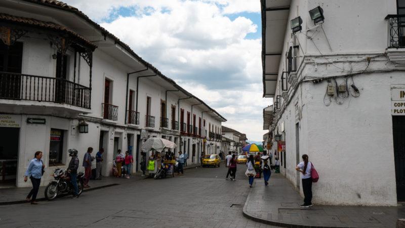 Centre ville Popayan Colombie