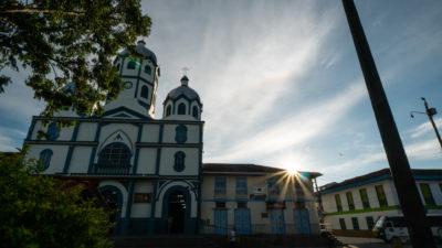 Centre ville filandia Colombie
