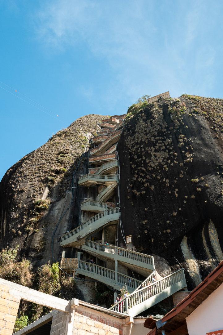 Monolithe Guatape Colombie