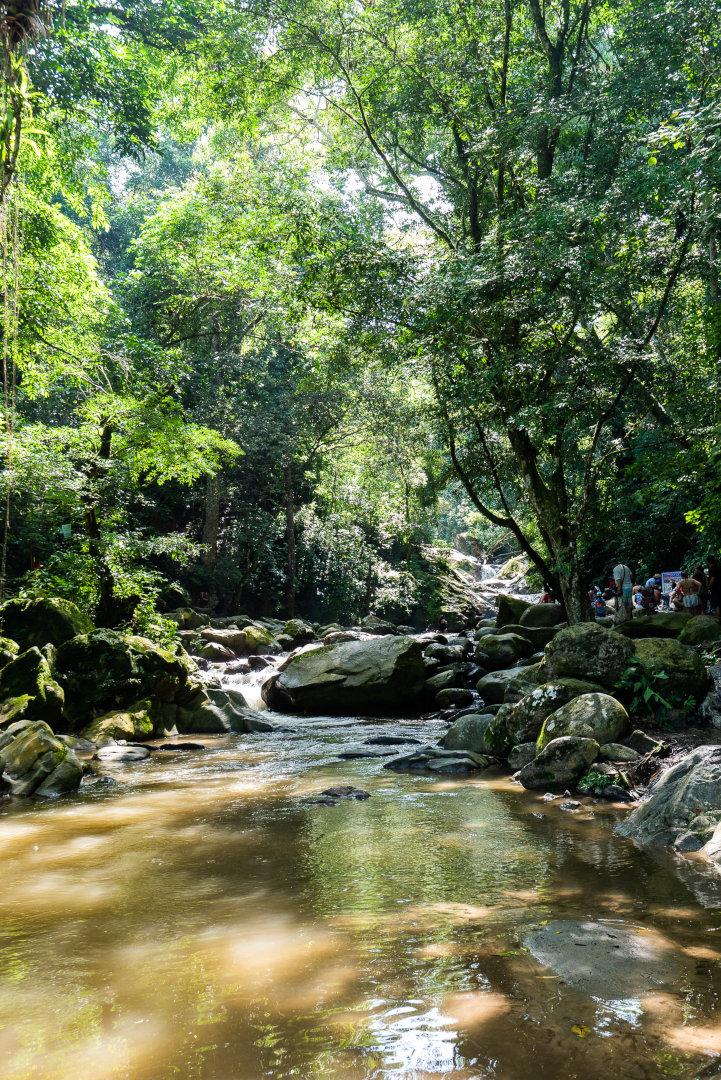 Cascade azul Minca Colombie