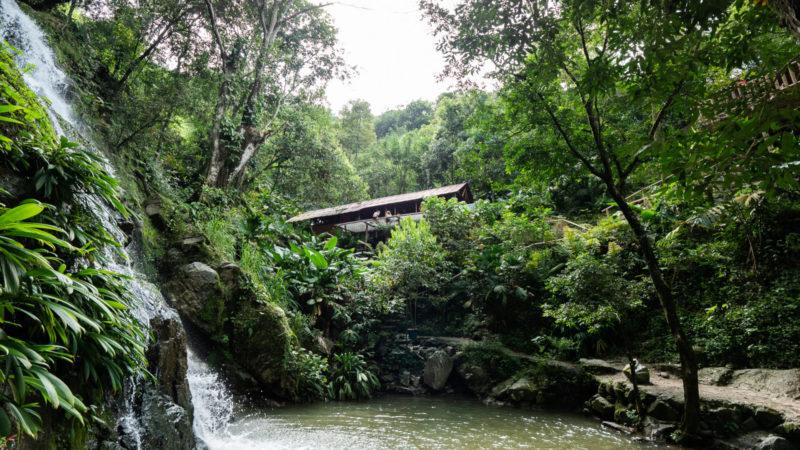 Cascadas de Marinkas Minca Colombie