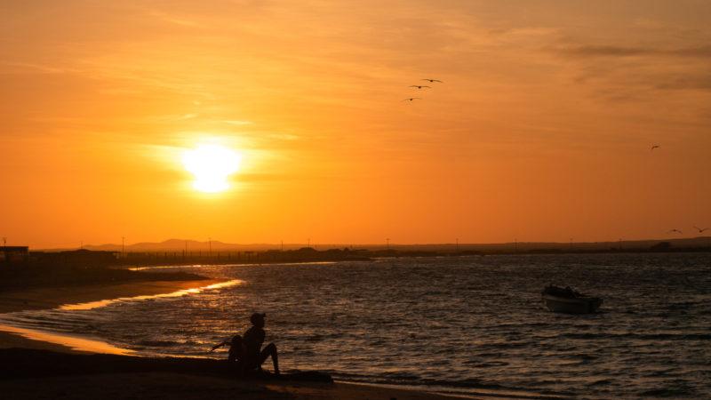 Punta Gallinas coucher de soleil