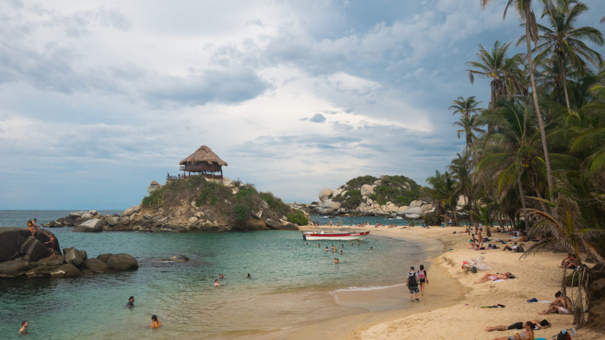 Plage San Cabo tayrona Colombie