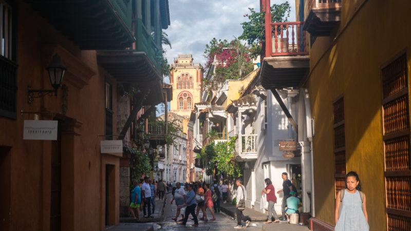 Centre ville carthagène Colombie