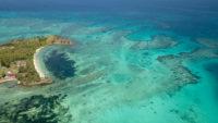 Ile vu du ciel Fidji
