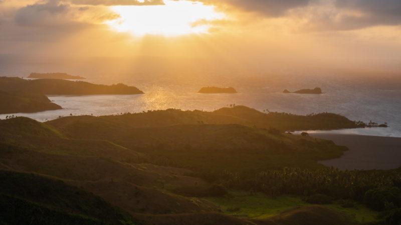 Lever de soleil Nabua FIdji