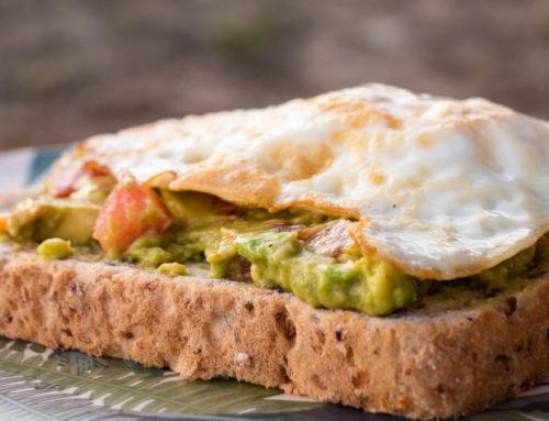 Van – Tartine guacamole oeuf sur le plat
